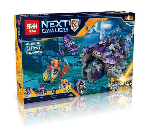 Коробка аналог Lego Nexo Knights Series Три брата  | 70350 | LEGOREPLICA