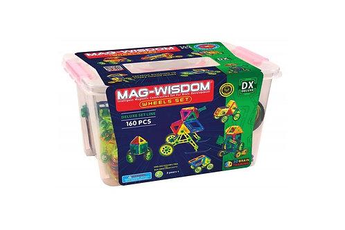 Магнитный конструктор Mag Wisdom Wheels Set 160 деталей   LEGOREPLICA