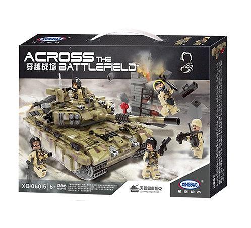 Конструктор XINGBAO MOC Тяжёлый танк «Тигр»
