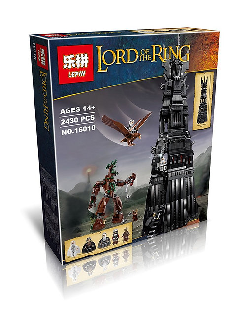 Коробка аналог Lego Lord of the Rings Башня Ортханк | 10237 | LEGOREPLICA