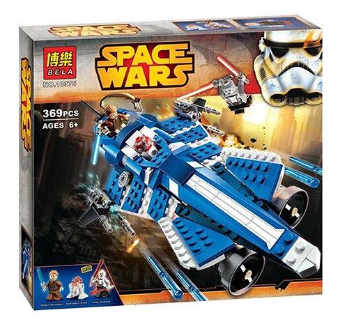 Коробка аналог Lego Star Wars Джедайский звездолет Анакина   75087   LEGOREPLICA