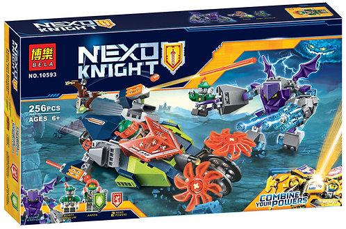 Коробка аналог Lego Nexo Knights Слайсер Аарона | 70358 | LEGOREPLICA