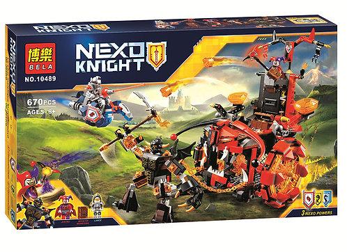 Коробка аналог Lego Nexo Knights Джестро-мобиль | 70316 | LEGOREPLICA
