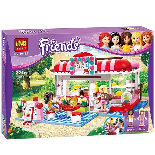 Коробка аналог Lego Friends Кафе в городском парке   3061   LEGOREPLICA