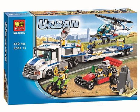 Коробка аналог Lego City Полицейский транспортировщик вертолета | 60049 | LEGOREPLICA