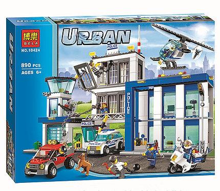 Коробка аналог Lego City Полицейский участок   60047   LEGOREPLICA