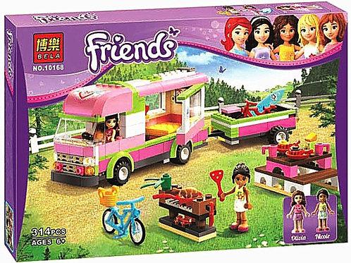 Коробка аналог Lego Friends Оливия и домик на колесах | 3184 | LEGOREPLICA
