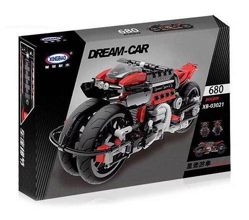Коробка XINGBAO MOC Футуристичный мотоцикл | IQREPLICA