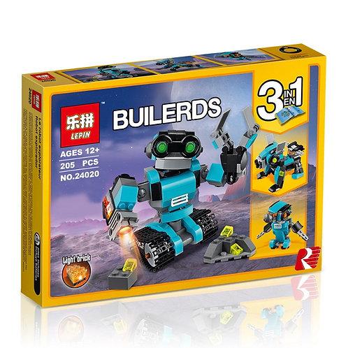Коробка аналог Lego Creator Робот-исследователь   31062   LEGOREPLICA