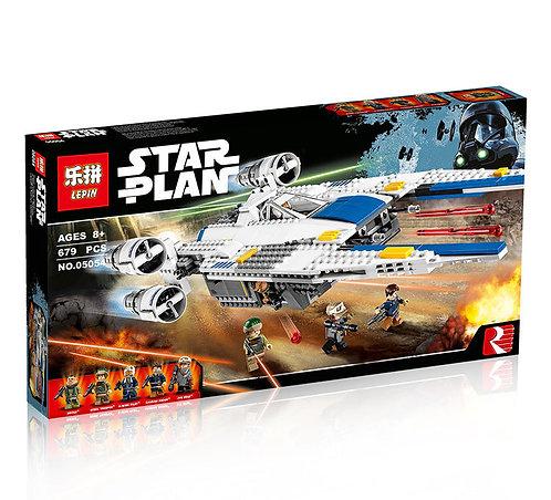 Коробка аналог Lego Star Wars Истребитель Повстанцев U-Wing | 75155 | LEGOREPLICA