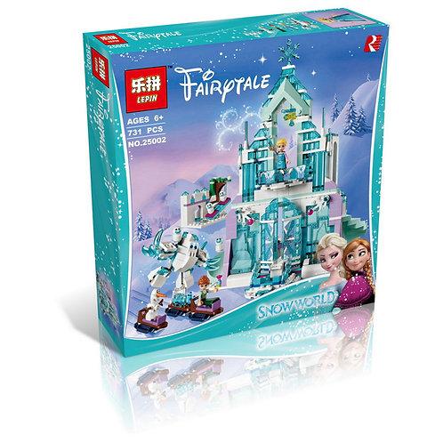 Конструктор LEPIN Disney Series Волшебный Ледяной замок Эльзы | 41148