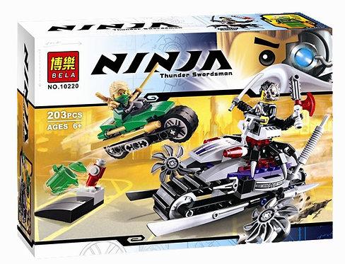 Коробка аналог Lego Ninjago Атака Оверборга | 70722 | LEGOREPLICA