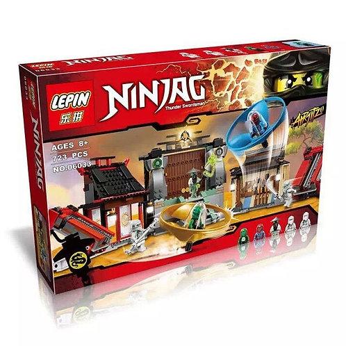 Коробка аналог Lego Ninjago Аэроджитцу поле битвы | 70590 | LEGOREPLICA