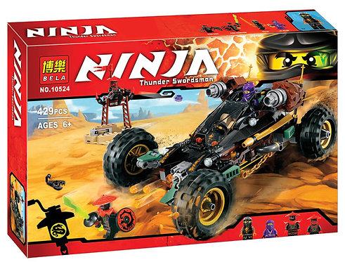 Коробка аналог Lego Ninjago Горный внедорожник | 70589 | LEGOREPLICA
