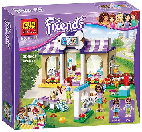 Коробка аналог Lego Friends Детский сад для щенков | 41124 | LEGOREPLICA