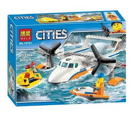 Конструктор BELA Спасательный самолет береговой охраны | 60164