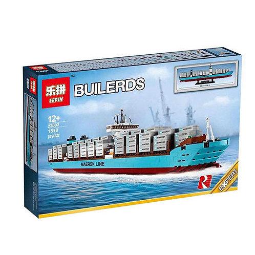Коробка аналог Lego Exclusive Контейнеровоз Маерск | 10241 | LEGOREPLICA
