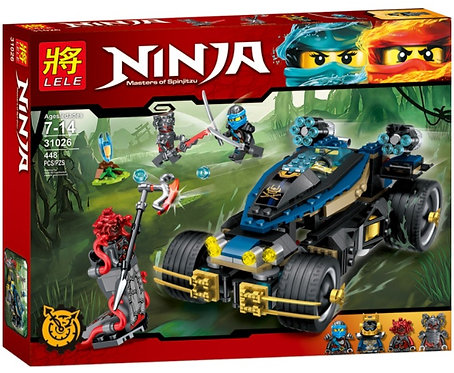 Коробка LELE Ninjago Самурай VXL | 70625 | IQREPLICA