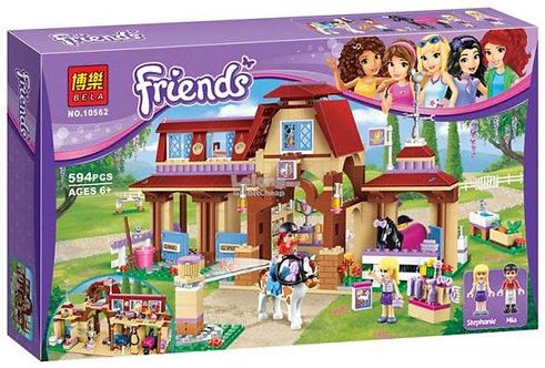 Коробка аналог Lego Friends Клуб верховой езды   41126   LEGOREPLICA