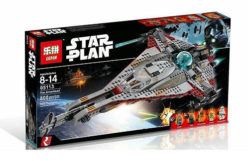 Коробка LEPIN Star Wars Стрела   75186   IQREPLICA
