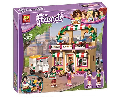 Коробка BELA Friends Пиццерия Хартлейк | 41311 | IQREPLICA