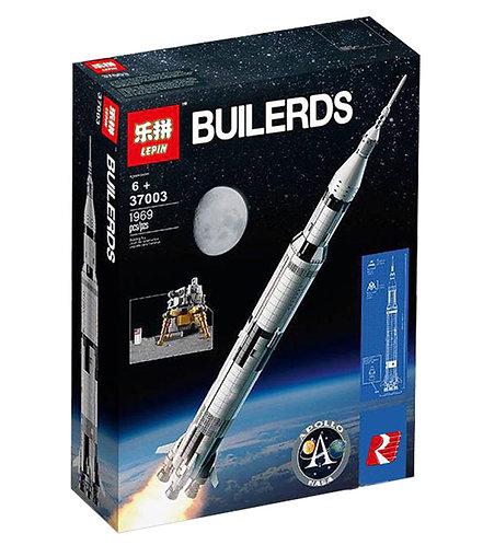 Коробка LEPIN Creator Сатурн-5-Аполлон | 21309 | IQREPLICA