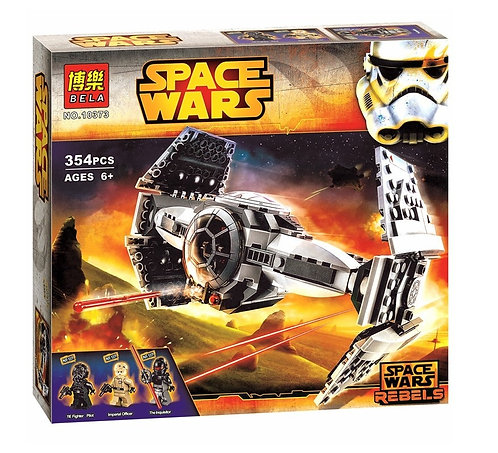Коробка аналог Lego Star Wars Улучшенный прототип истребителя TIE | 75082 | LEGOREPLICA