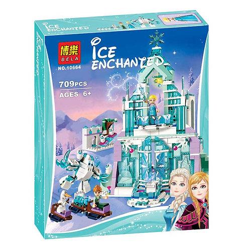 Коробка BELA Disney Series Волшебный Ледяной замок Эльзы   41148   IQREPLICA
