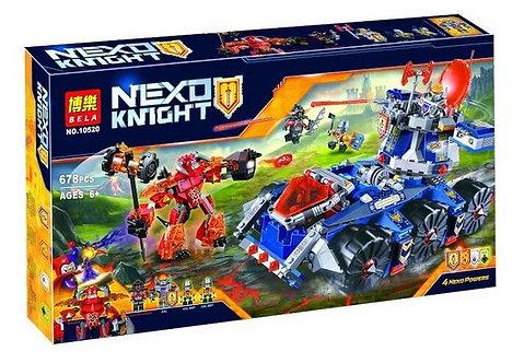 Коробка аналог Lego Nexo Knights Башенный тягач Акселя | 70322 | LEGOREPLICA
