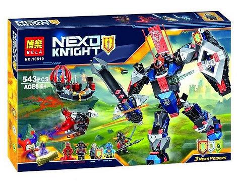Коробка аналог Lego Nexo Knights Робот Чёрный рыцарь   70326   LEGOREPLICA