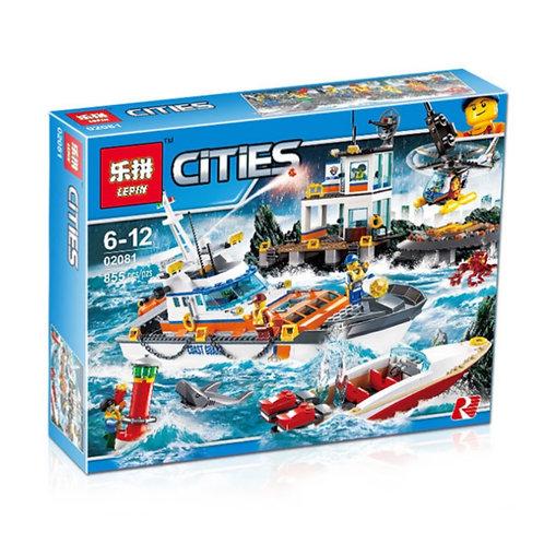 Коробка LEPIN Штаб береговой охраны | 60167 | IQREPLICA