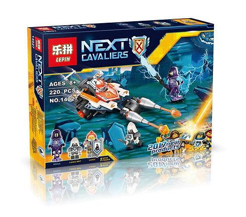 Коробка аналог Lego Nexo Knights Series Турнирная машина Ланса | 70348 | LEGOREPLICA