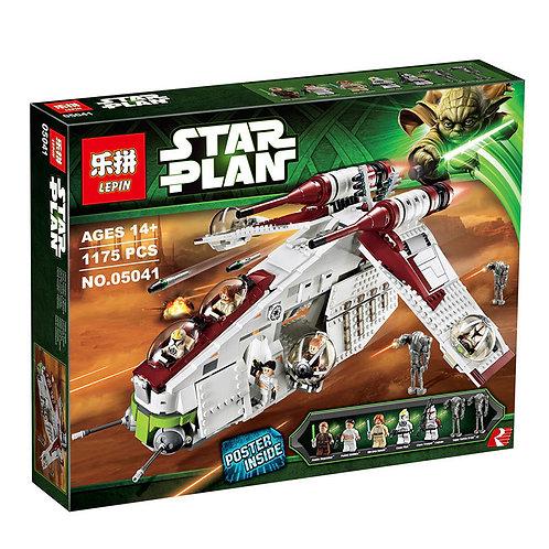 Коробка аналог Lego Star Wars Республиканский истребитель | 75021 | LEGOREPLICA