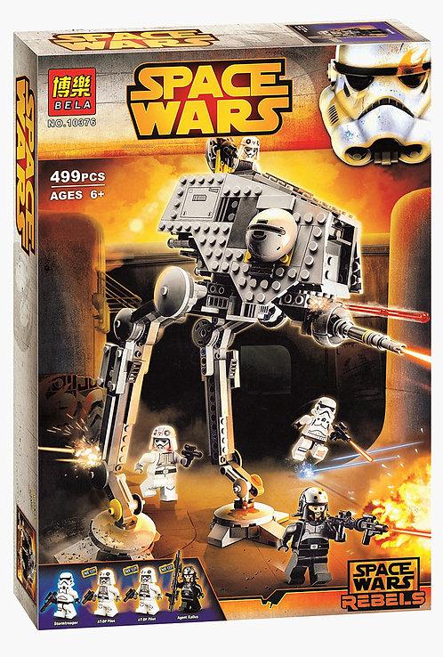 Коробка аналог Lego Star Wars Вездеходная Оборонительная Платформа AT-DP   75083   LEGOREPLICA