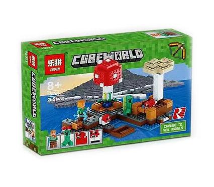 Конструктор LEPIN Minecraft Грибной остров | 21129