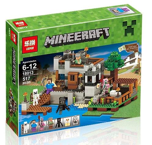 Коробка аналог Lego Minecraft Береговая Цитадель | LEGOREPLICA