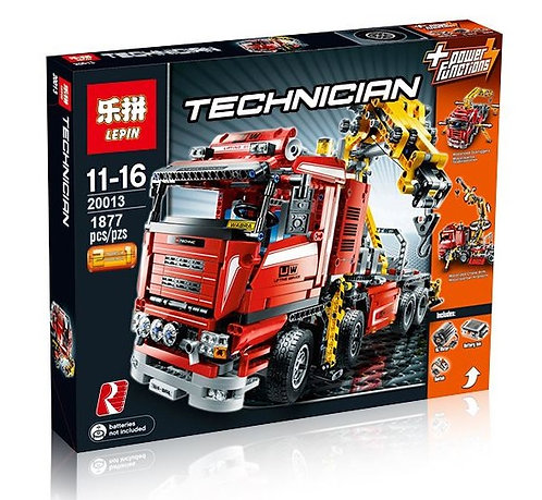 Коробка аналог Lego Technic Грузовой кран 8258 | LEGOREPLICA