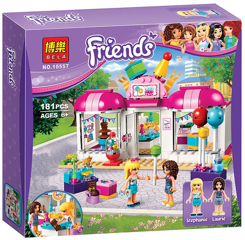 Коробка аналог Lego Friends Подготовка к вечеринке   41132   LEGOREPLICA