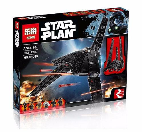 Коробка аналог Lego Star Wars Имперский Шаттл Кренника | 75156 | LEGOREPLICA