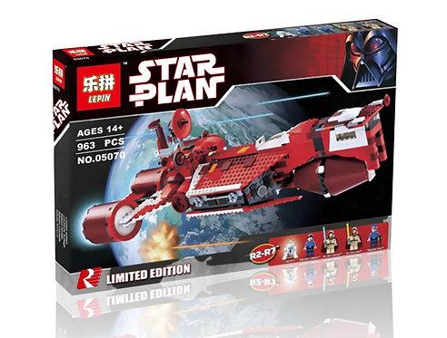 Коробка аналог Lego Star Wars Республиканский Крейсер | 7665 | LEGOREPLICA