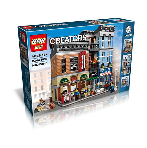 Коробка аналог Lego Creator Офис детектива | 10246 | LEGOREPLICA