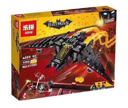 Коробка LEPIN Batman Movie Series Бэтмолёт Batwing | 70916 | IQREPLICA