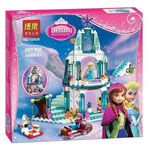 Коробка аналог Lego Disney Ледяной замок Эльзы | 41062 | IQREPLICA