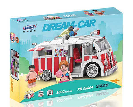 Коробка XINGBAO Technic MOC Фургон с мороженым | IQREPLICA
