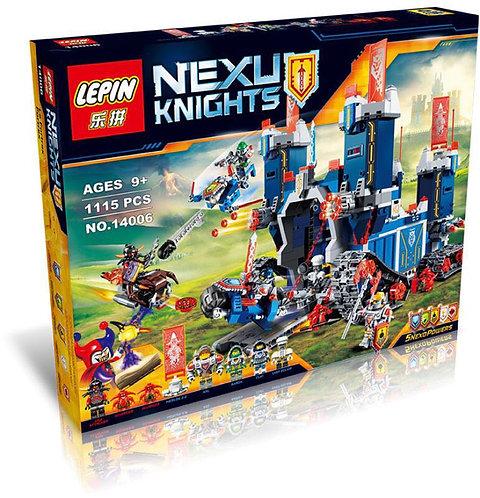 Коробка аналог Lego Nexo Knights Series Фортрекс - мобильная крепость   70317   LEGOREPLICA