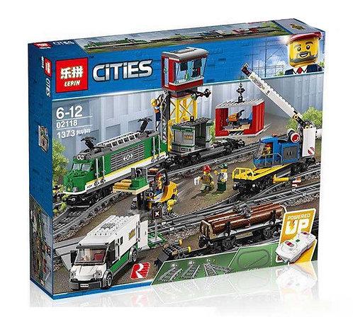 Конструктор LEPIN Товарный поезд | 60198