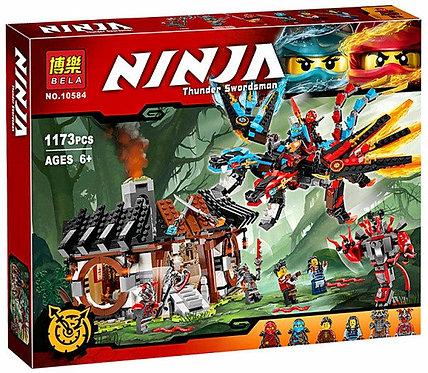 Коробка аналог Lego Ninjago Кузница Дракона   70627   LEGOREPLICA