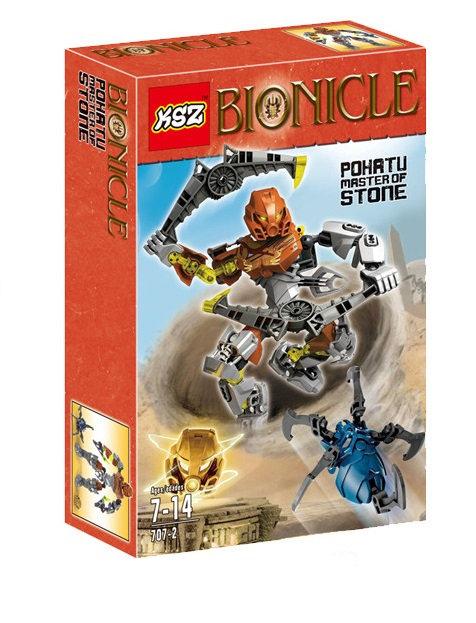 Коробка KSZ Bionicle Похату - Повелитель Камня | 70785 | IQREPLICA