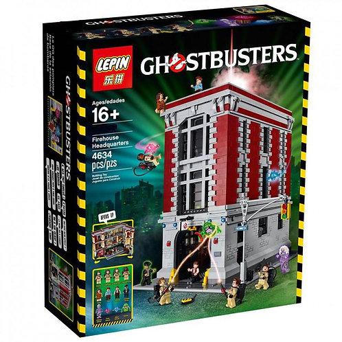 Коробка аналог Lego Creator Штаб-квартира охотников за привидениями | 75827 | LEGOREPLICA