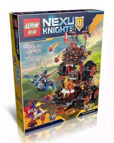 Коробка LEPIN Nexo Knights Роковое наступление Генерала Магмара | 70321 | IQREPLICA